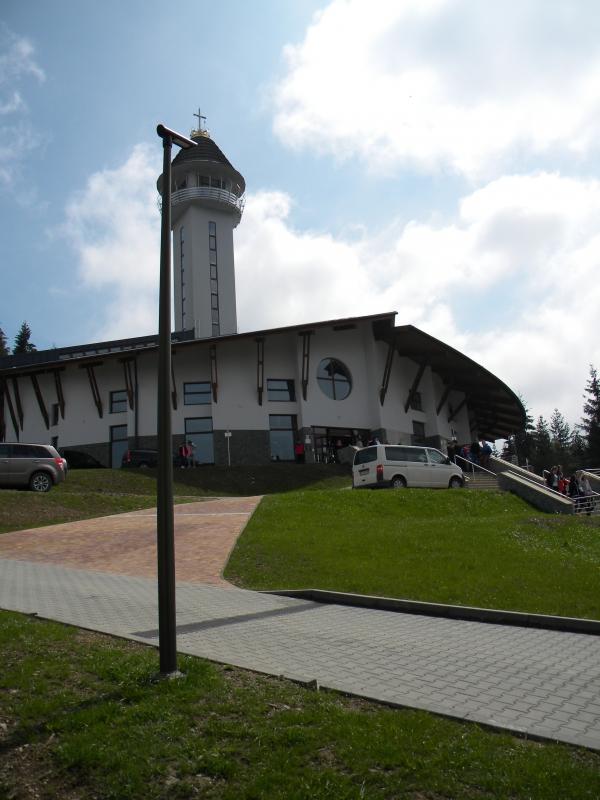 Pútnické miesto Hora Živčáková kostol Panny Márie 1