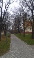 Park kostola Svatobořice